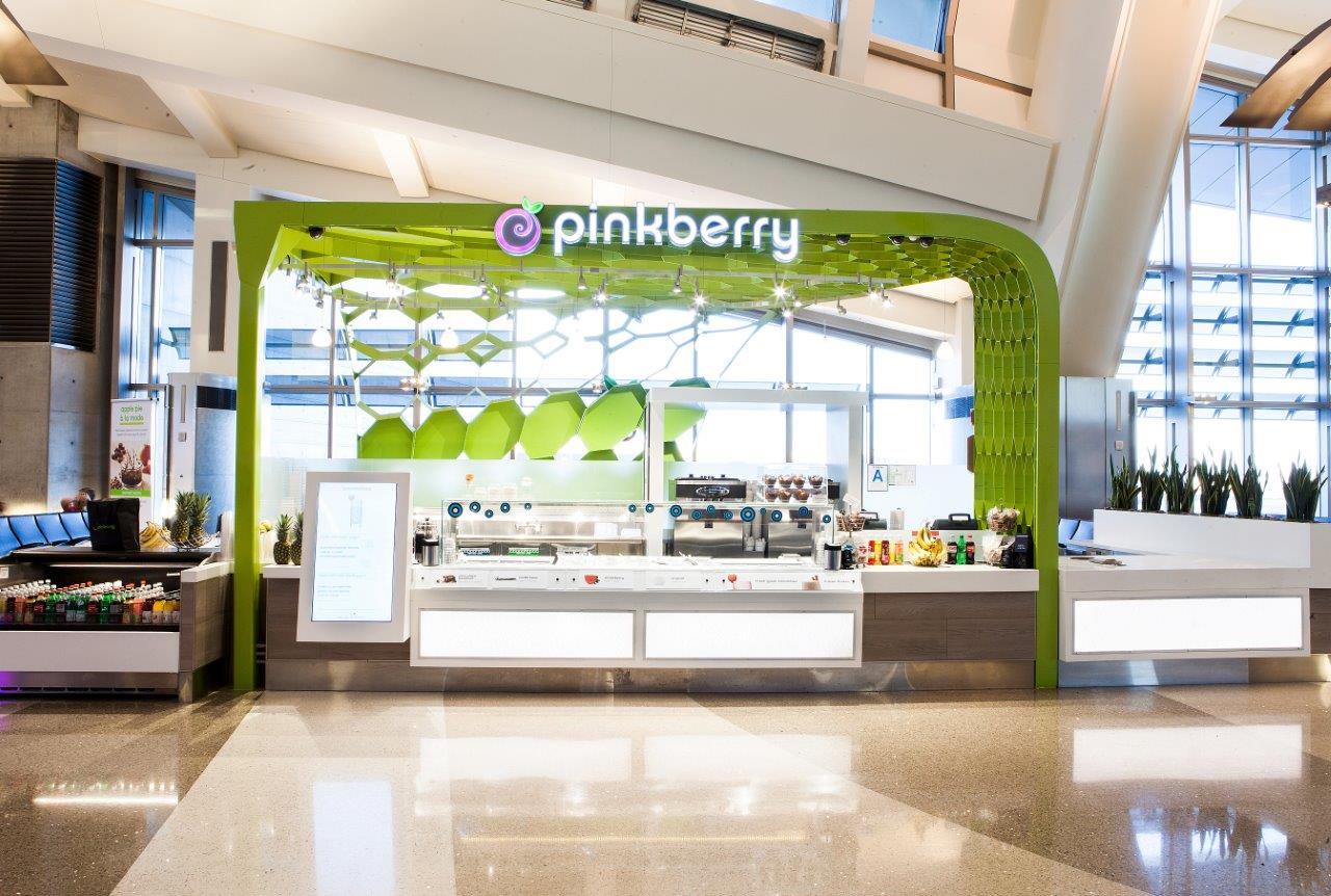 Pinkberry LAX Kiosk
