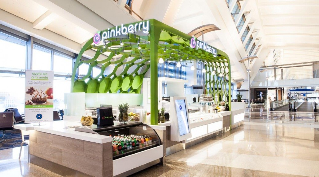 Pinkberry LAX Kiosk by RA